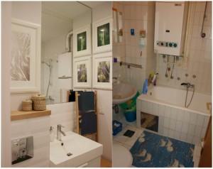 Kupaonica prije i poslije