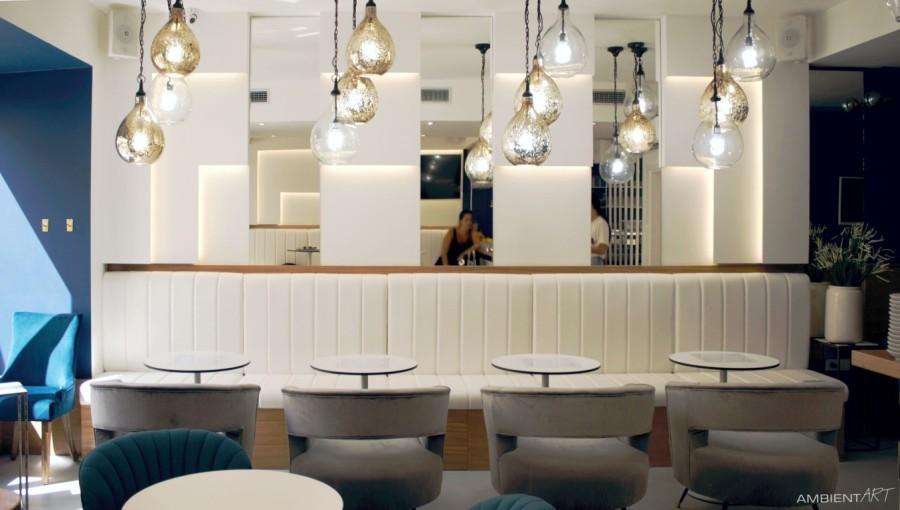 Cafe bar interijer